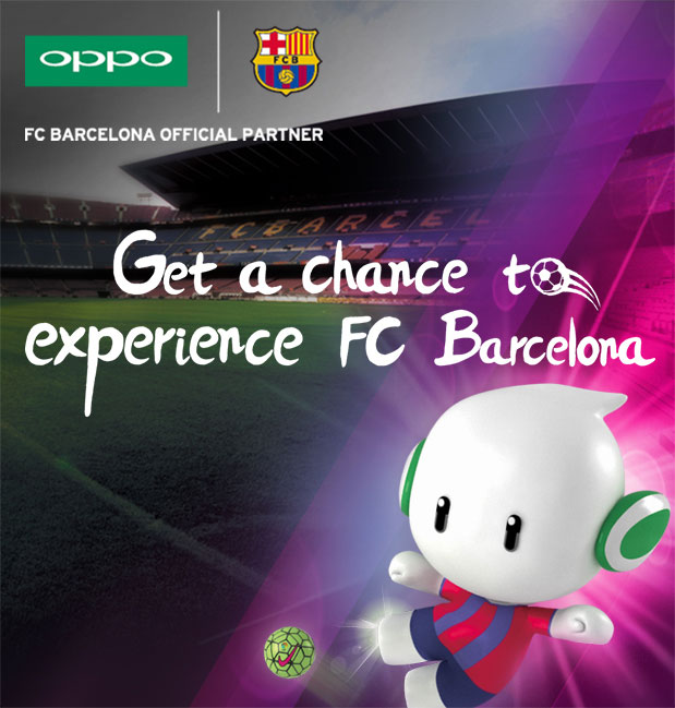 Get a chance to experience FC Barcelona