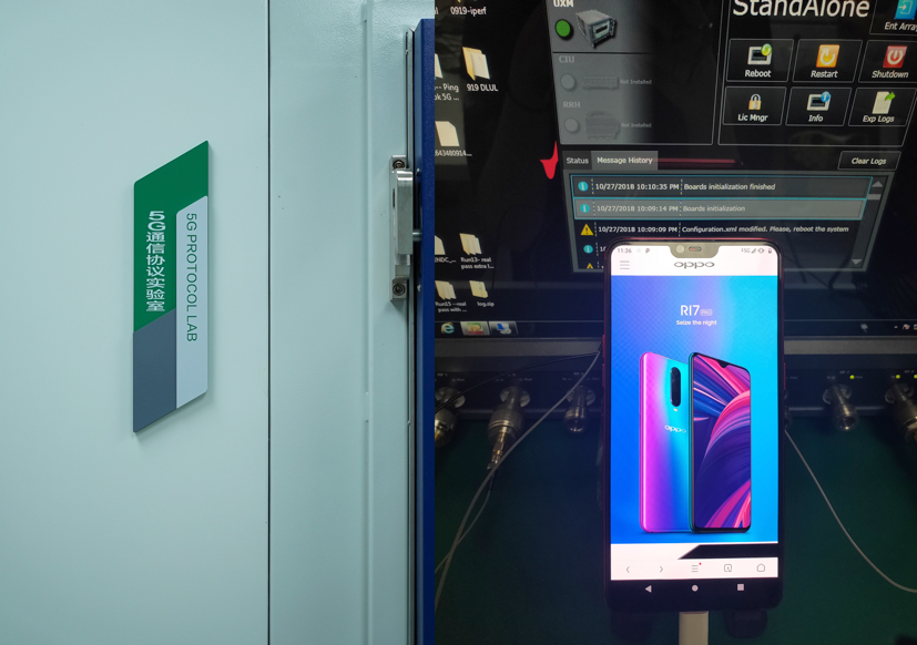 OPPO Smartphone Pioneers 5G Internet Connection First