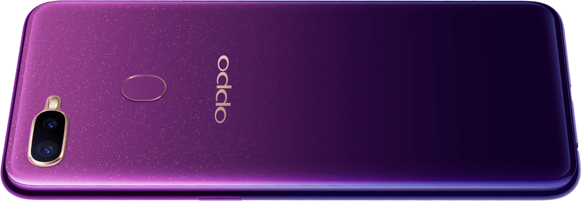 OPPO F9 Starry Purple Edition - Industry Pioneering Spraying Techniques