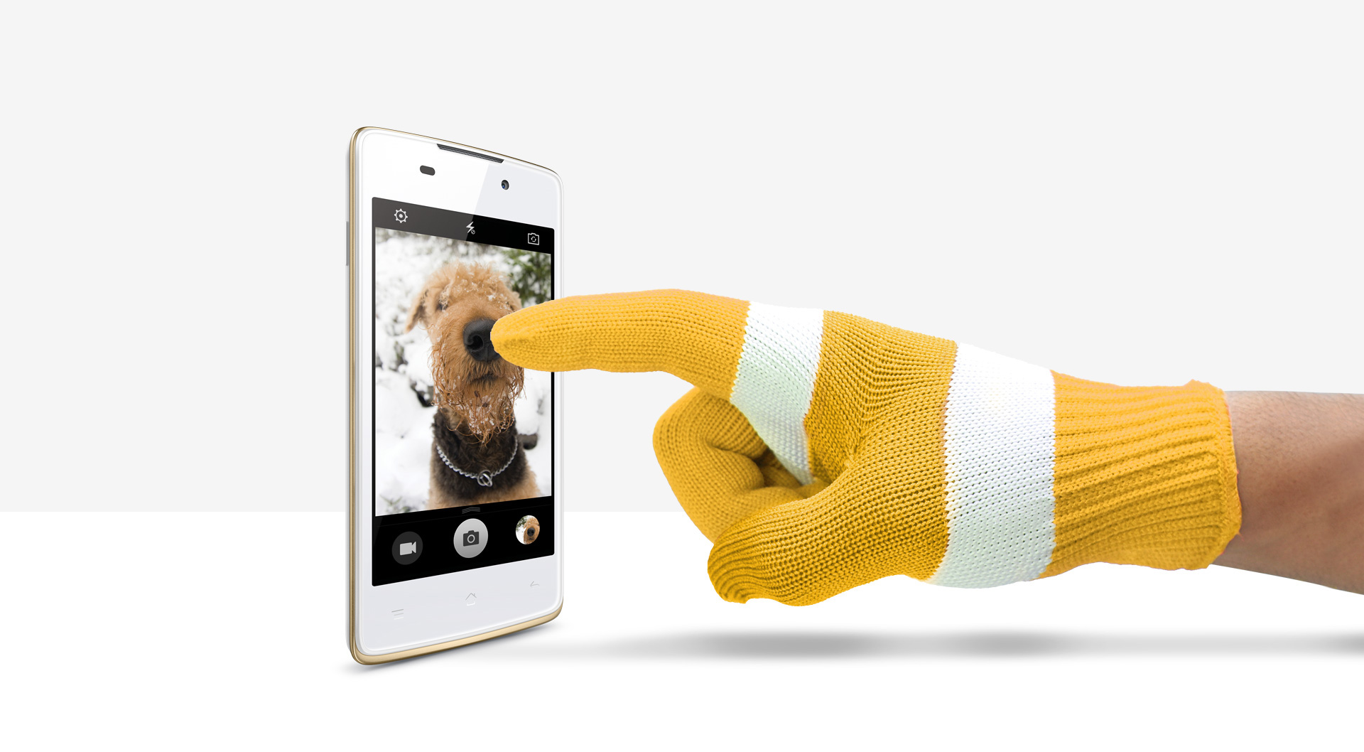 OPPO Joy Plus   Gloves Mode