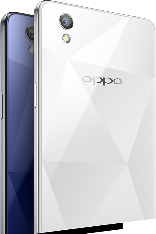 Oppo mirror 5 with a sparkling diamond like mirrored for Mirror your phone