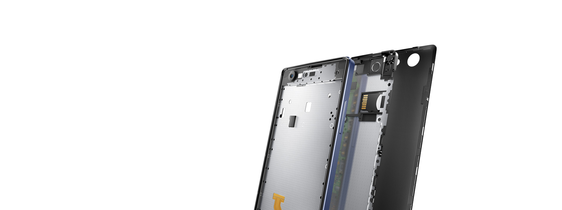 OPPO Neo 5  Double-layer<br />Metallic Structure