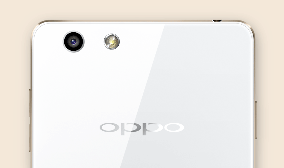 OPPO R1  Integrated Camera Lens, a Perfect Unibody Design