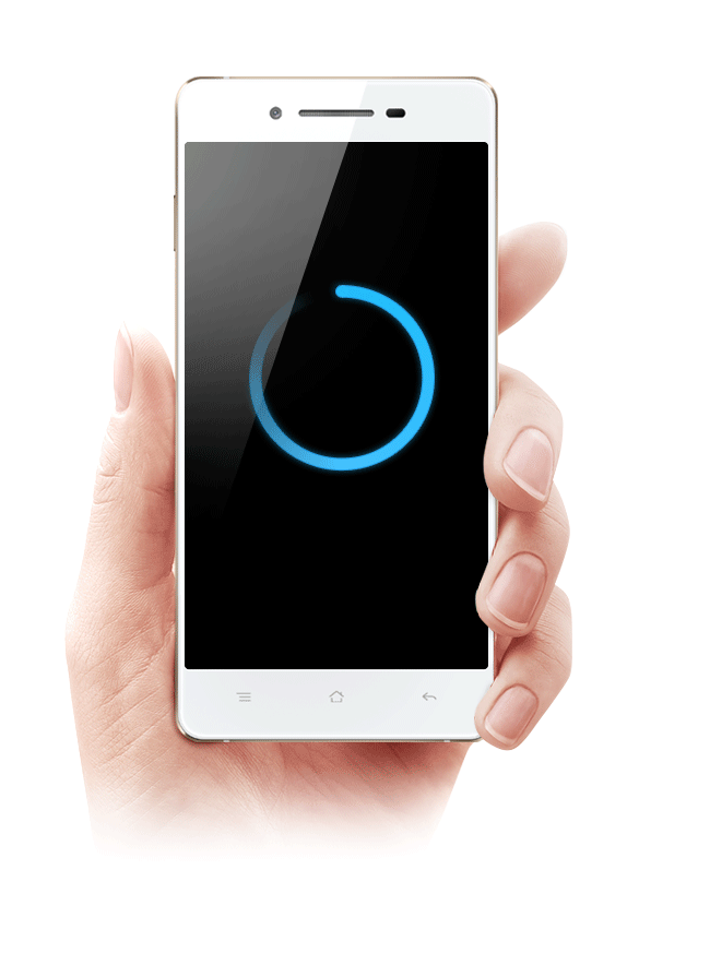 OPPO R1  Quick Reach, by ColorOS