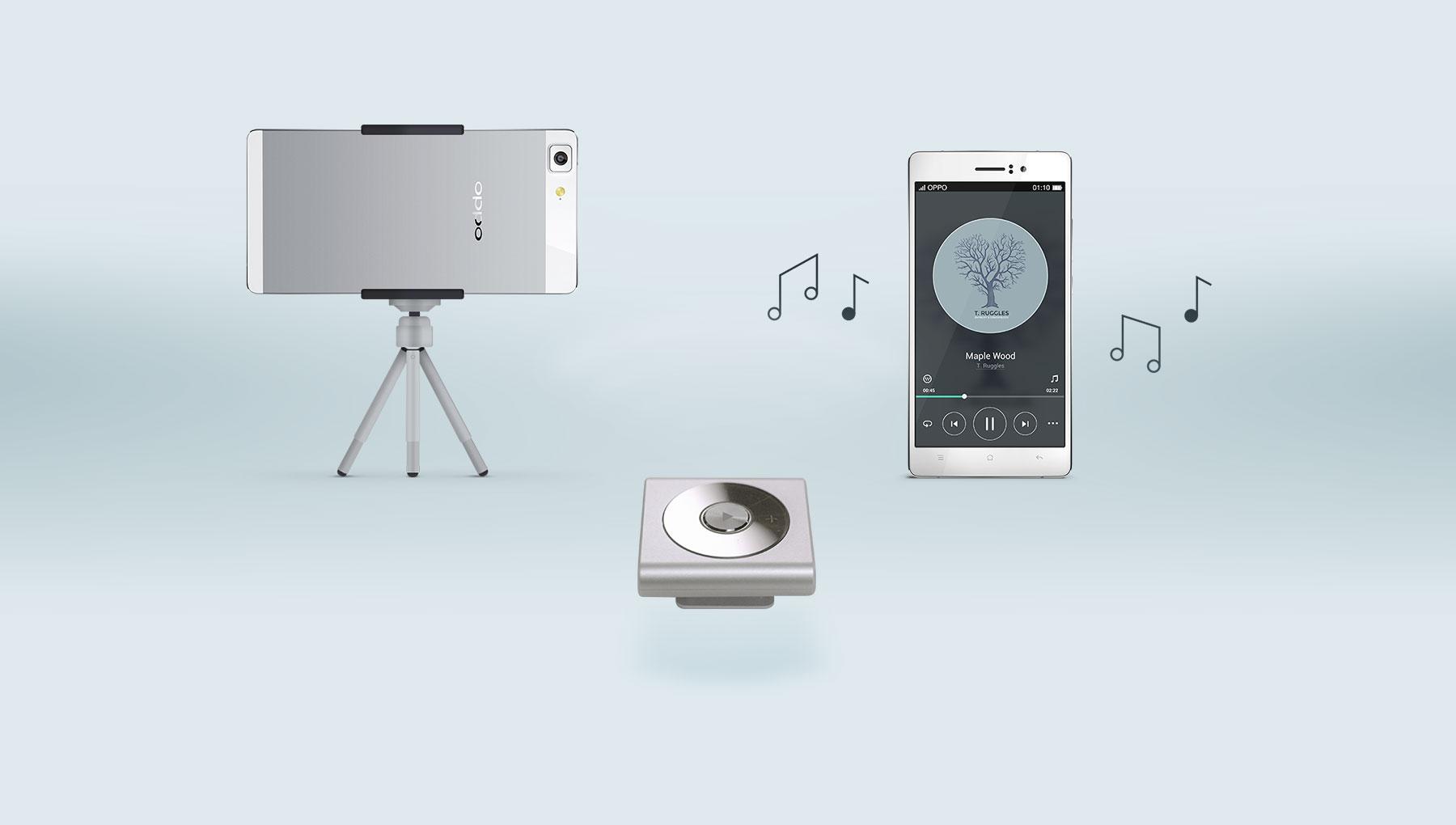 OPPO R5  เติมเต็มความสนุกของชีวิตได้ง่ายๆ ไม่ว่าจะถ่ายภาพ หรือ ฟังเพลง ด้วย O-Music