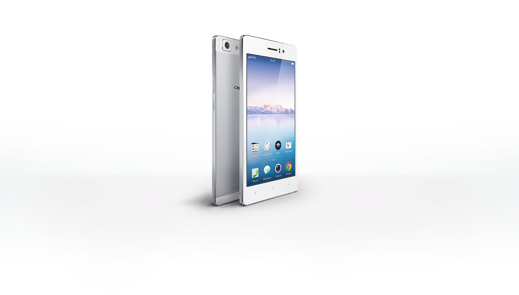 OPPO R5  Hand Polished Steel in Your Hand