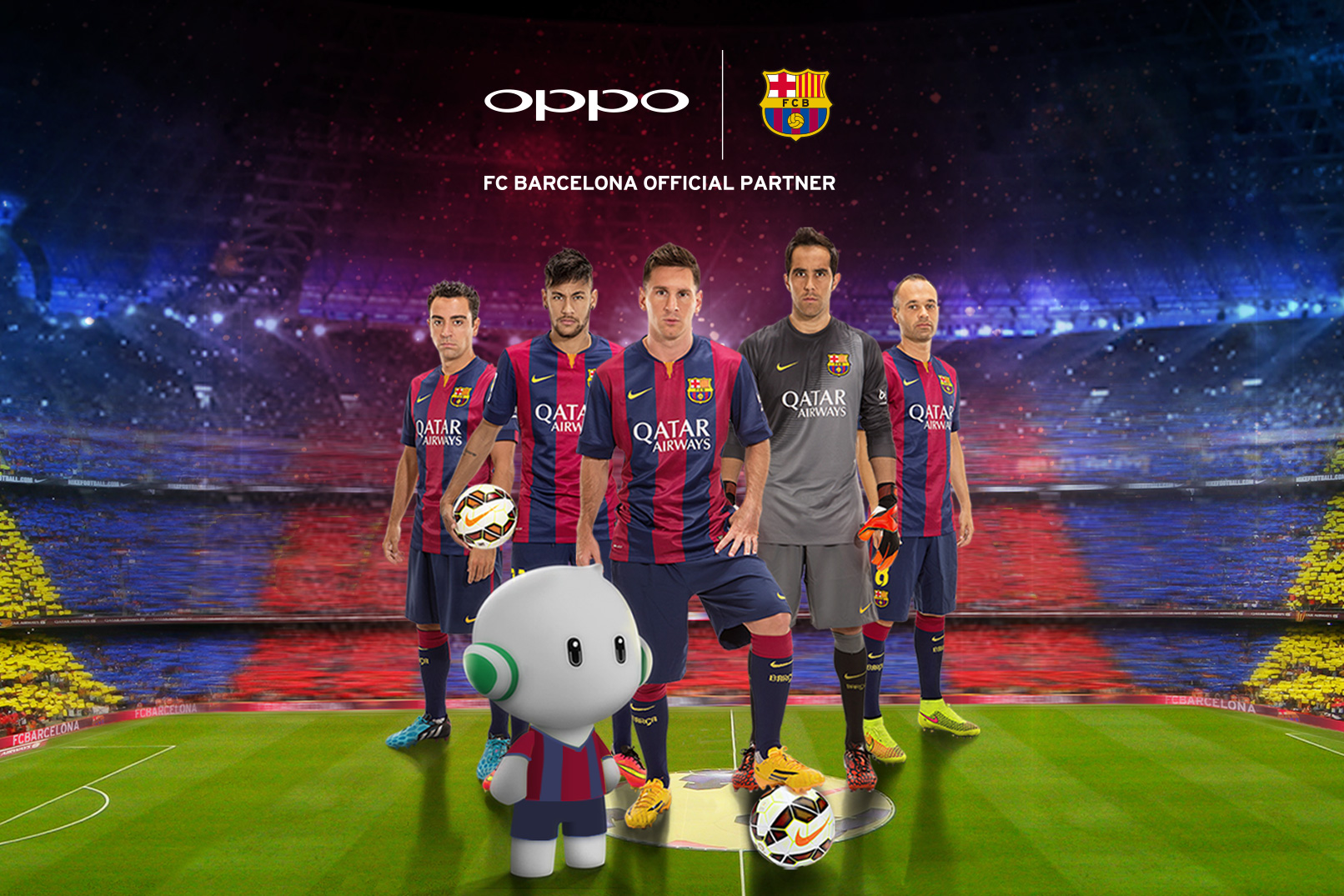 Teaming the Art of Football with Exquisite Phones:  FC Barcelona & OPPO Announces Partnership