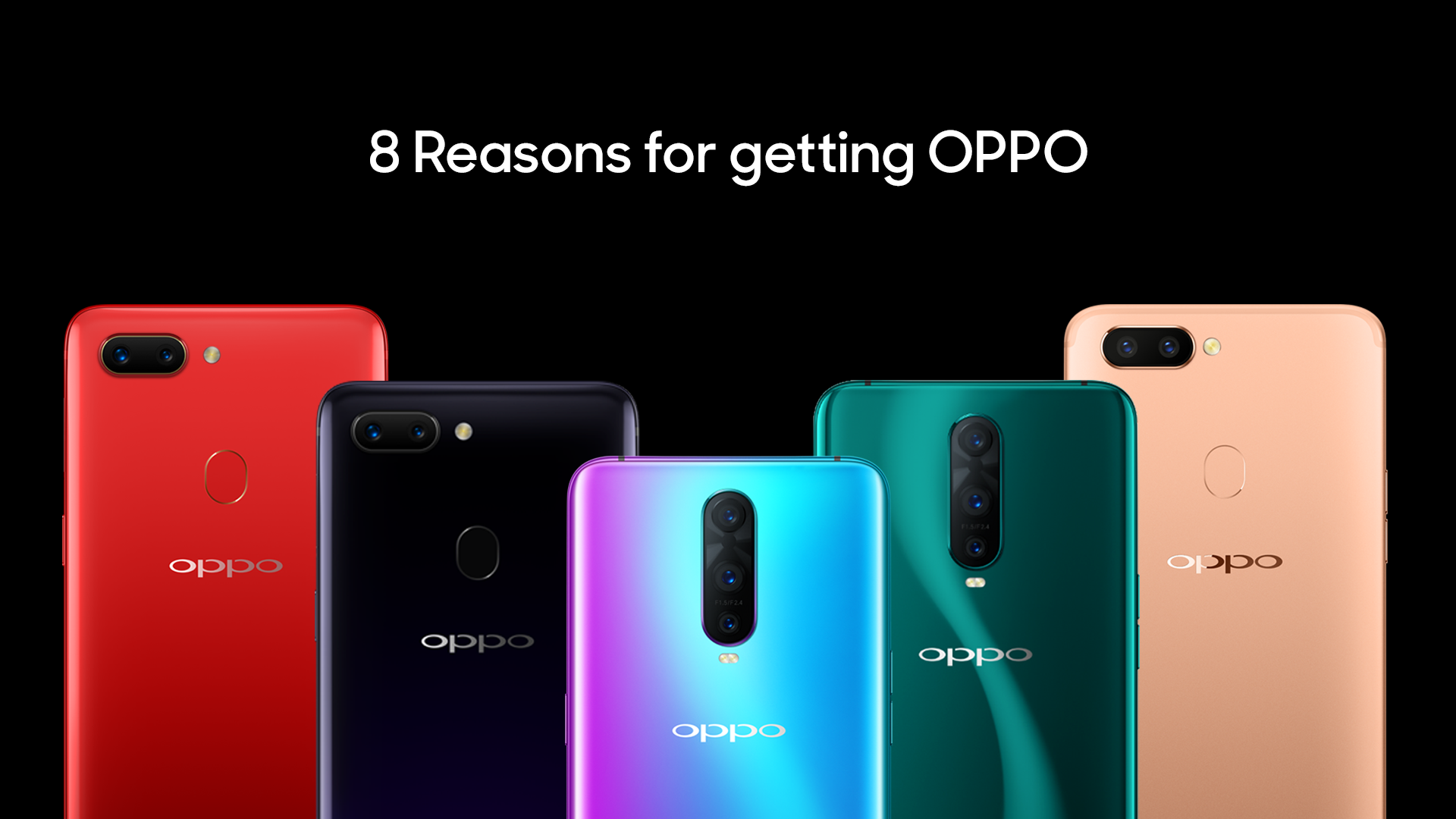8 reasons why to buy an OPPO phone