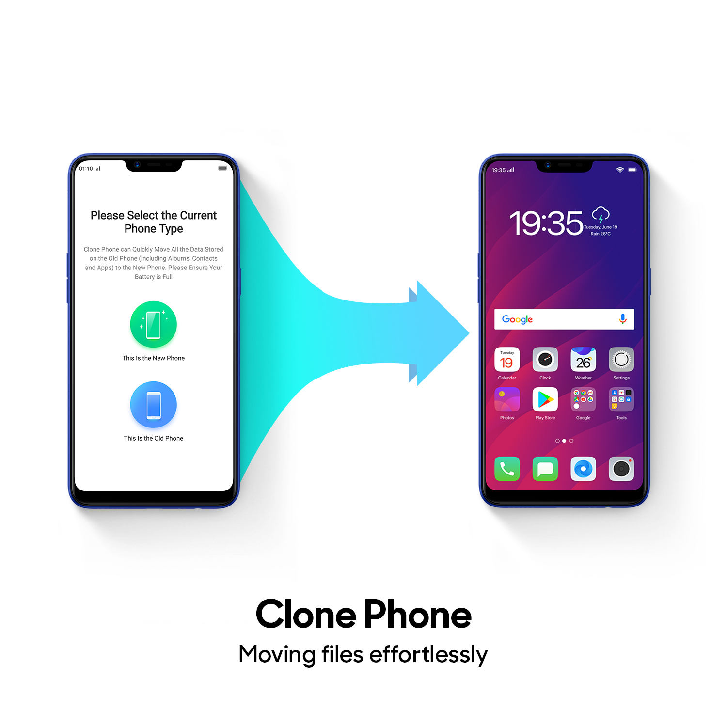 How to clone a phone with OPPO