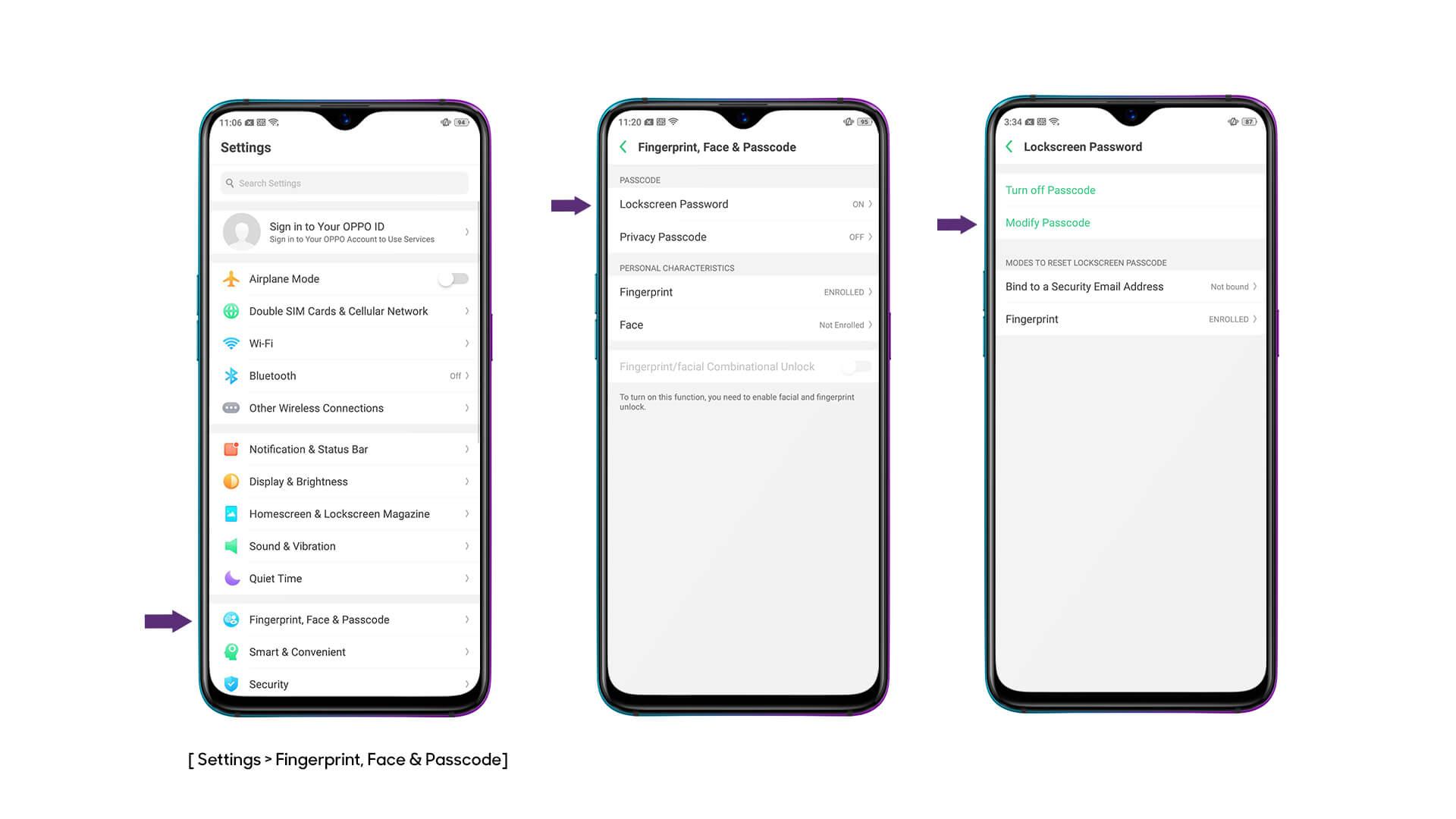OPPO Fingerprint Lock | Fingerprint Scanner | OPPO Australia | OPPO