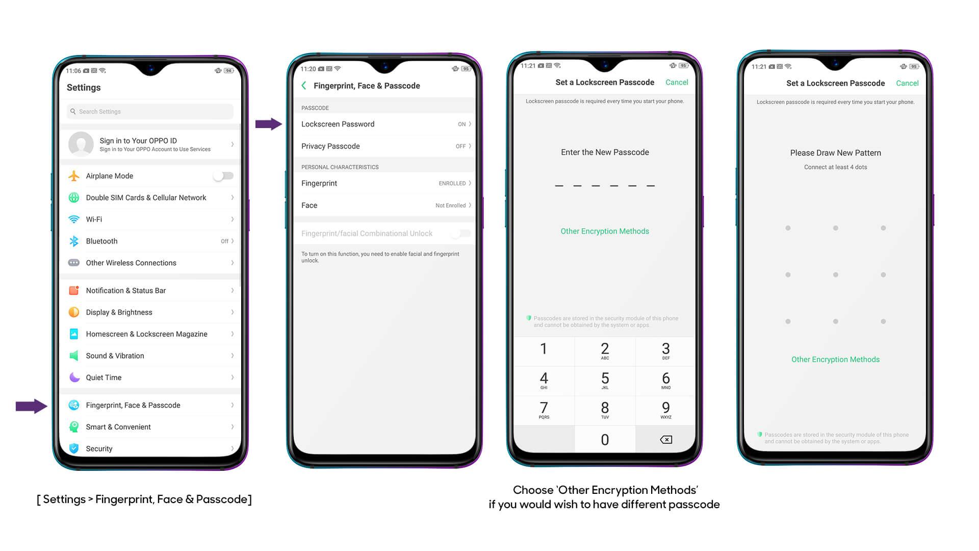 OPPO Fingerprint Lock | Fingerprint Scanner | OPPO Australia