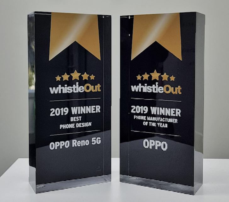 OPPO Takes Home Two WhistleOut Awards