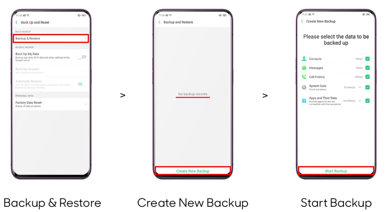 How to backup and restore your Android phone?   OPPO Australia