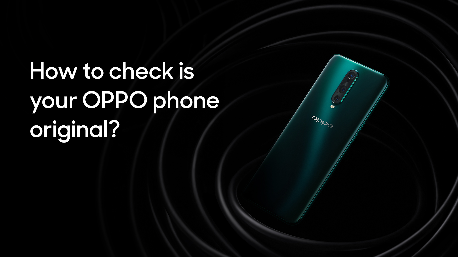 How Do I Know My OPPO Phone Is Original? | OPPO Australia | OPPO