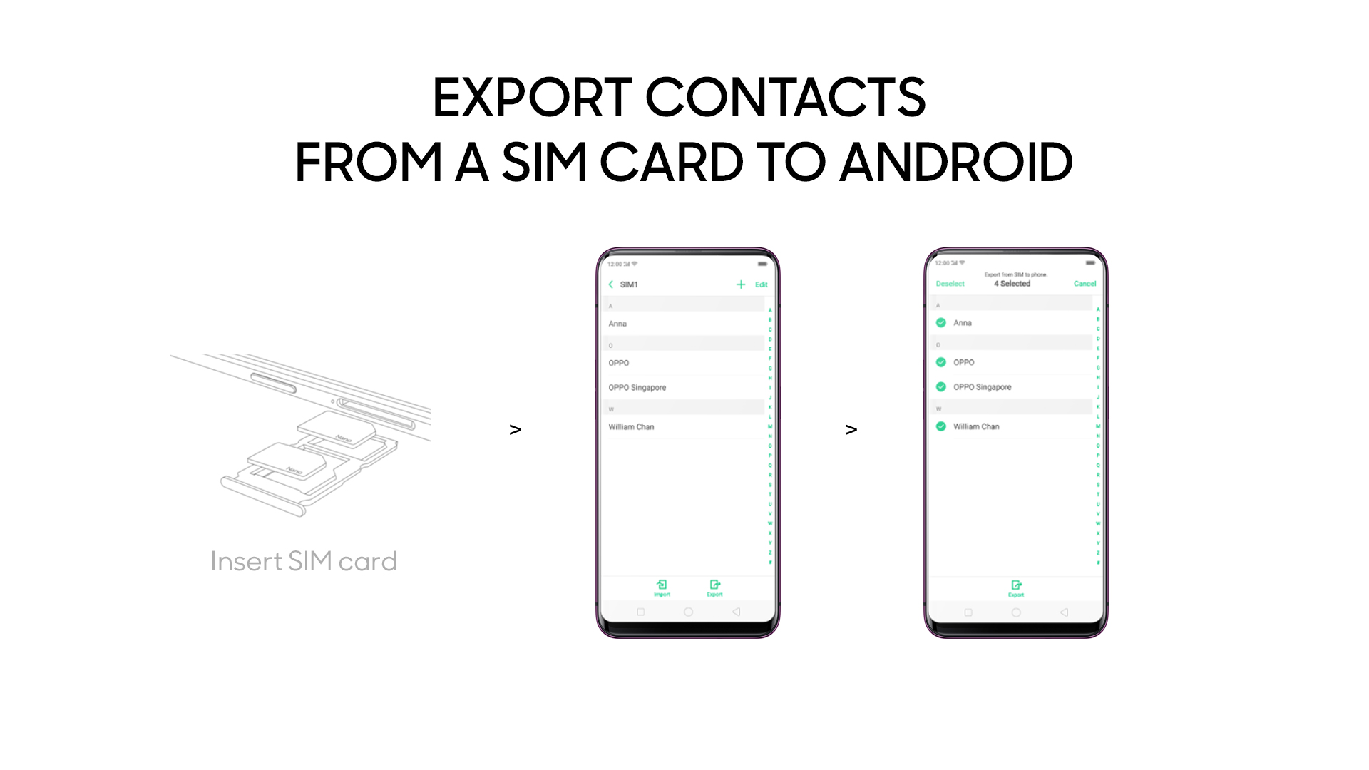How to sync contacts to Android on OPPO | OPPO Australia