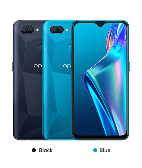 Color options of oppo A12