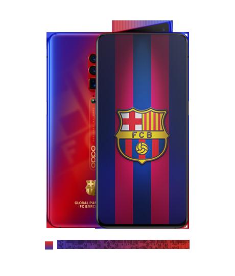 OPPO Reno FC Barcelona Edition Uiterlijk