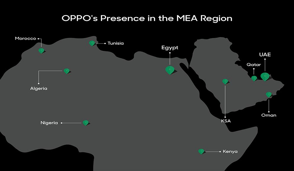 في إطار خطتها التوسعية في منطقة الشرق الأوسط، تفتتح OPPO  ثاني مركز لعملياتها الإقليمية بالعاصمة دبي