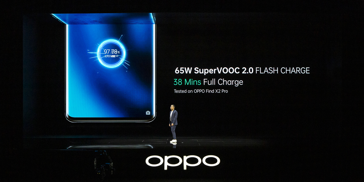 OPPO FIND X2 Charging