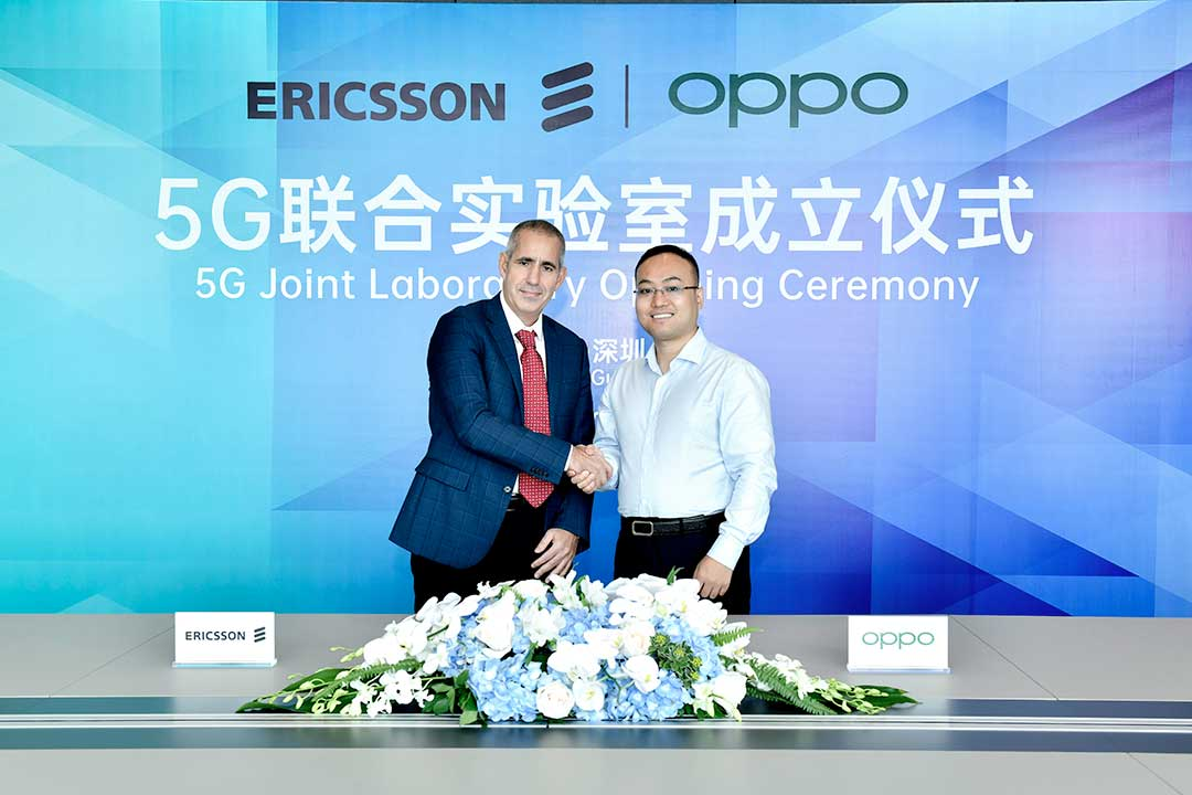 OPPO and Ericsson Launch 5G Joint Lab to Strengthen Collaboration