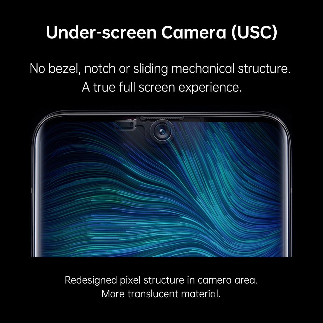 OPPO Takes Lead in Unveiling Innovative Technologies – Under-Screen Camera at MWC Shanghai 2019