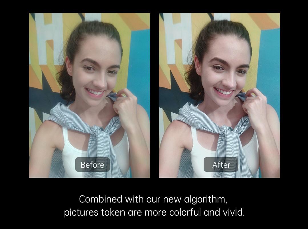 结合 AI 算法,提升透视全景屏拍照的质量