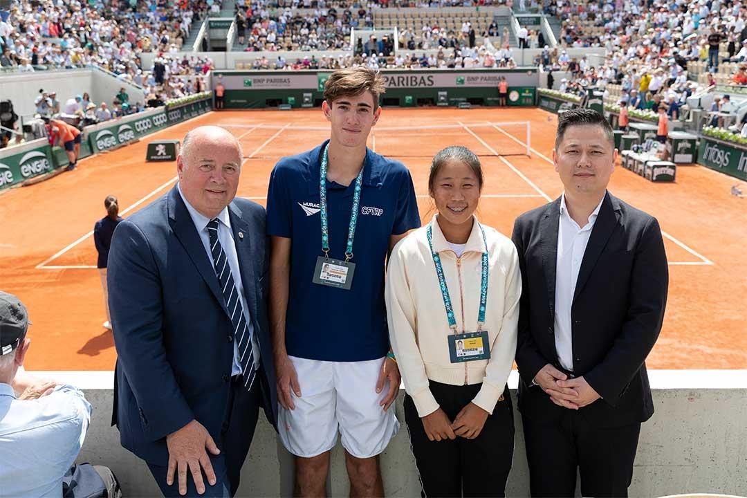OPPO celebrates successful 2019 Roland-Garros tournament and Junior Wild Card Series