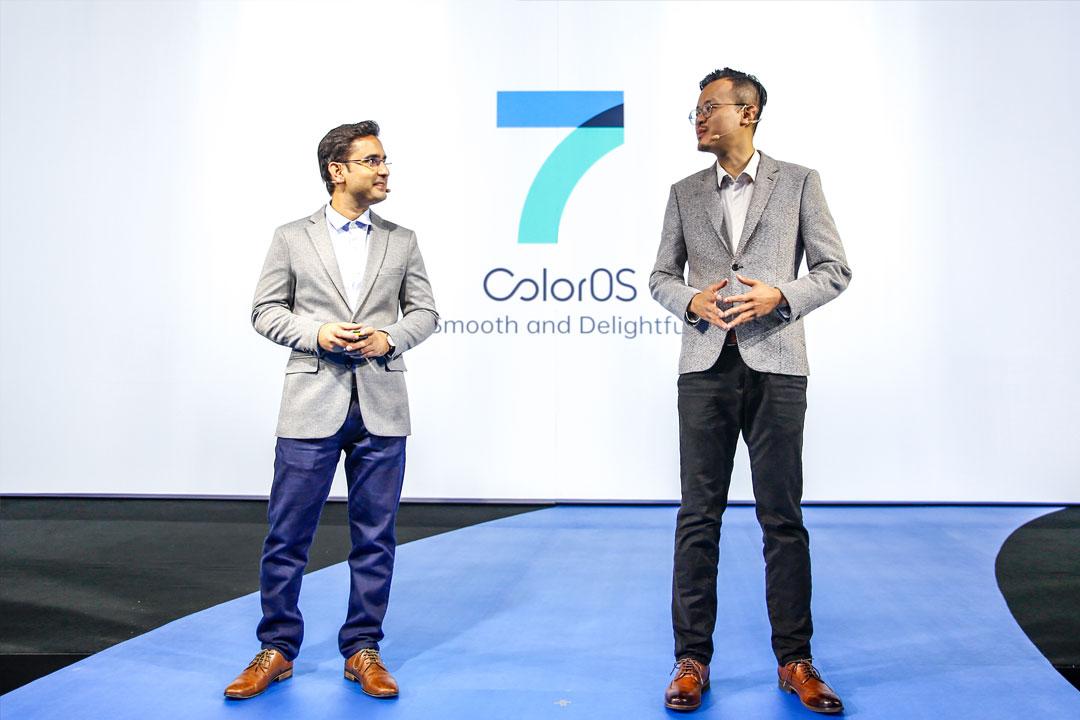 OPPO lanza por primera vez el nuevo ColorOS 7 fuera de China