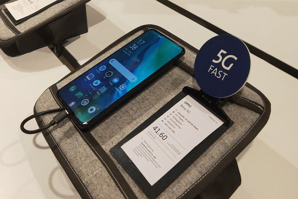 OPPO Reno 5G becomes the first commercial 5G smartphone to hit the market in Europe