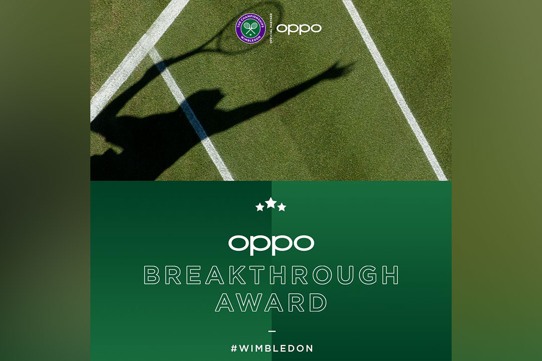 OPPO Champions Pathbreaking Young Tennis Players at Wimbledon 2019