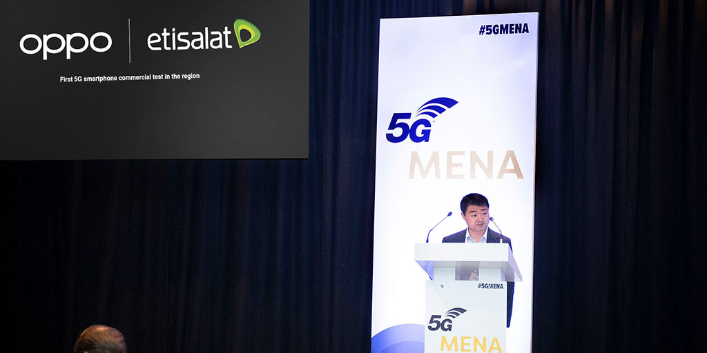 OPPO leads the 5G revolution through collaboration with Etisalat for the first 5G smartphone test in the region