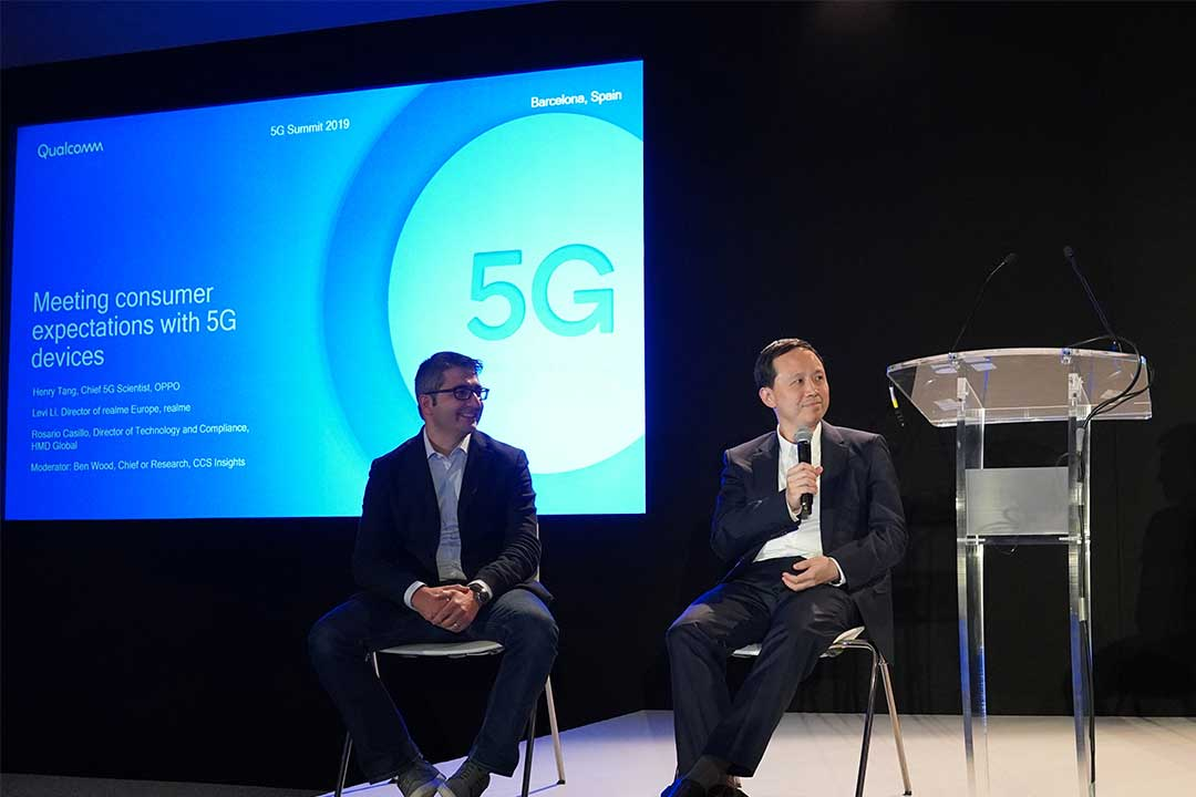 OPPO to launch the world's first Qualcomm-powered dual-mode 5G smartphone by year-end, says OPPO's Chief 5G Scientist
