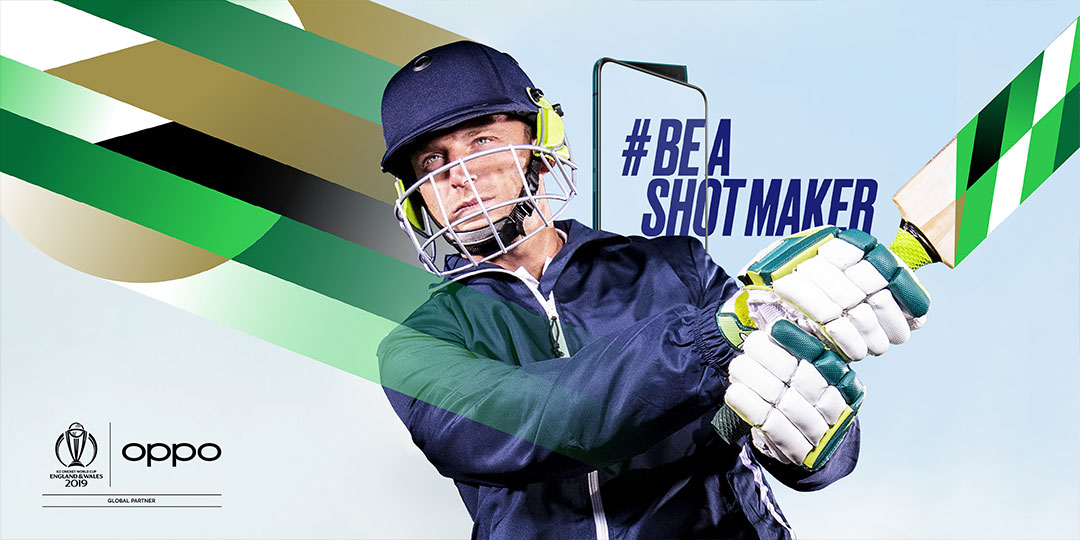 OPPO Partners With Top Athletes and Creatives To Give New Perspective on Cricket World Cup