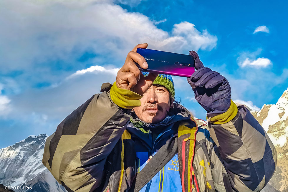 The Altitude of Photography: F11 Pro x Mt. Everest
