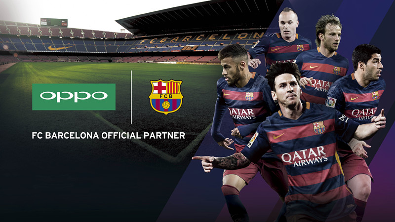 OPPO becomes Barcelona's official partner for the mobile phone device category1.jpg