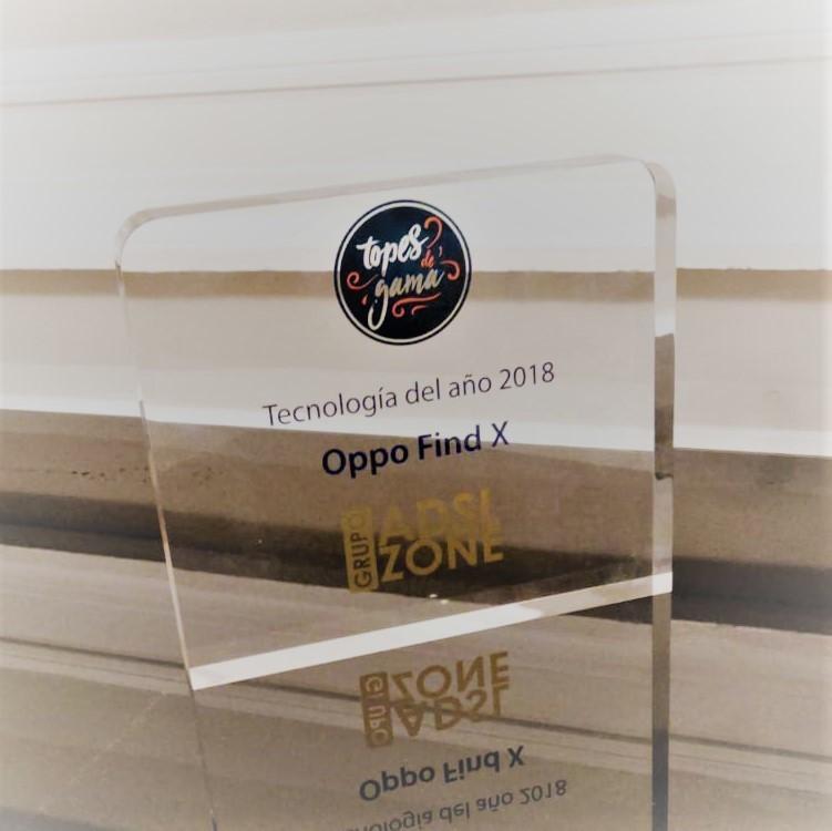 PREMIOS ADSL Zone - OPPO Find X Tecnología del año