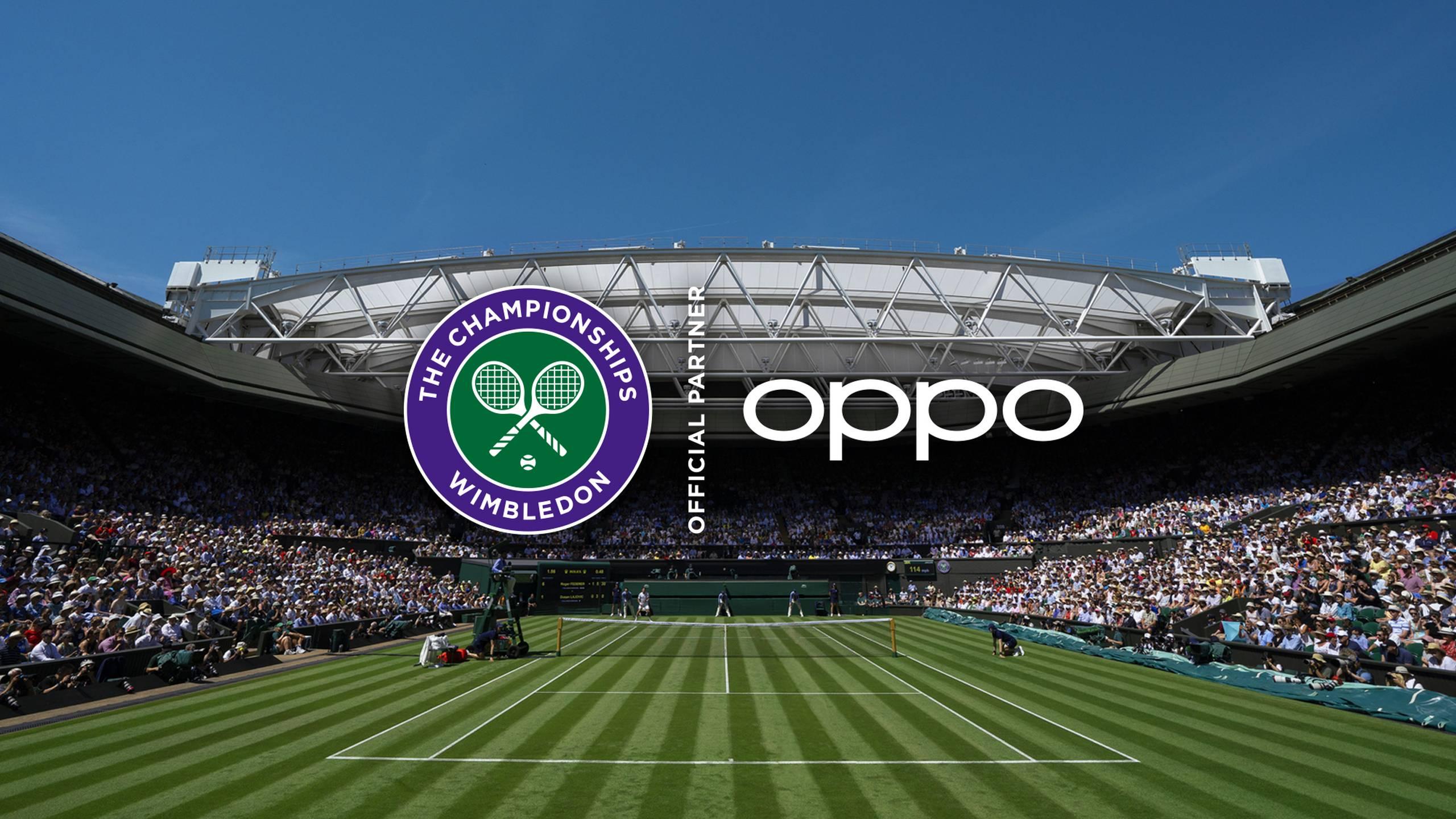 OPPO devient partenaire officiel des championnats Wimbledon
