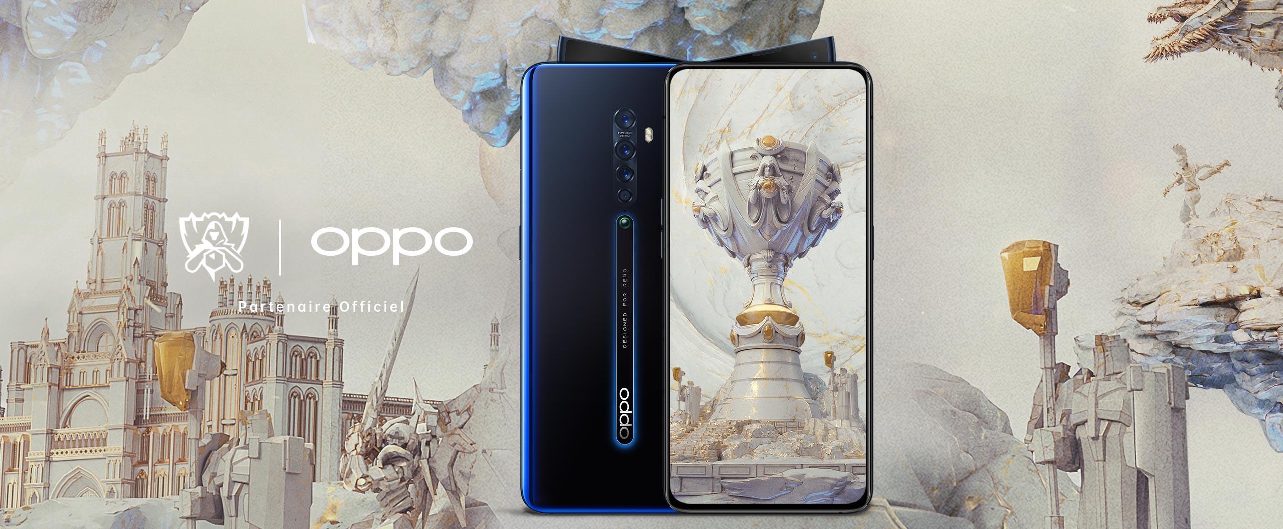 OPPO dévoile le dispositif inédit qui sera mis en place dans le cadre de son partenariat avec League of Legends