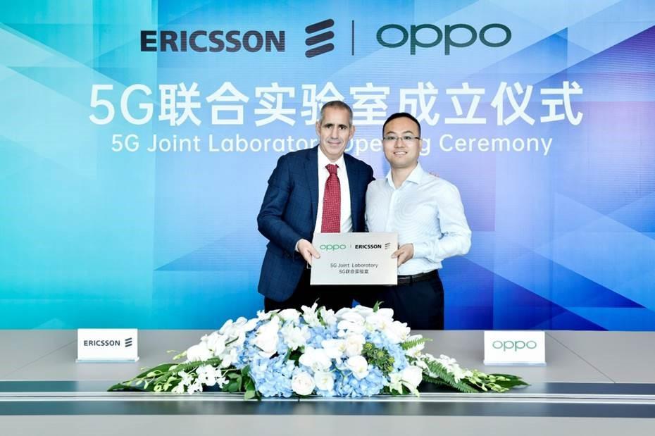 OPPO et Ericsson renforcent leur collaboration et lancent un laboratoire commun dédié à la 5G