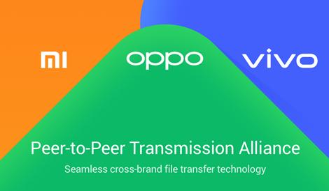 OPPO, vivo et Xiaomi facilitent le partage de fichiers grâce à la Peer-to-Peer Transmission Alliance