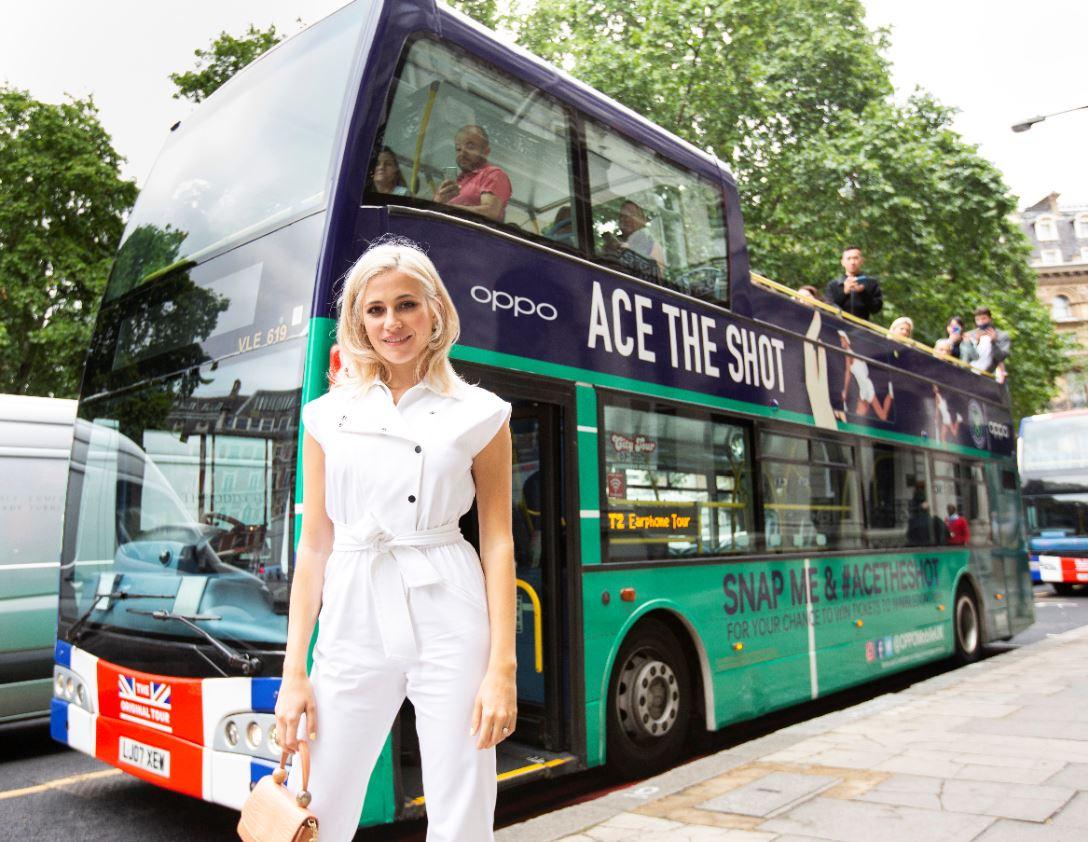 Pixie Lott est prête pour le célèbre tournoi Wimbledon avec OPPO #AceTheShot