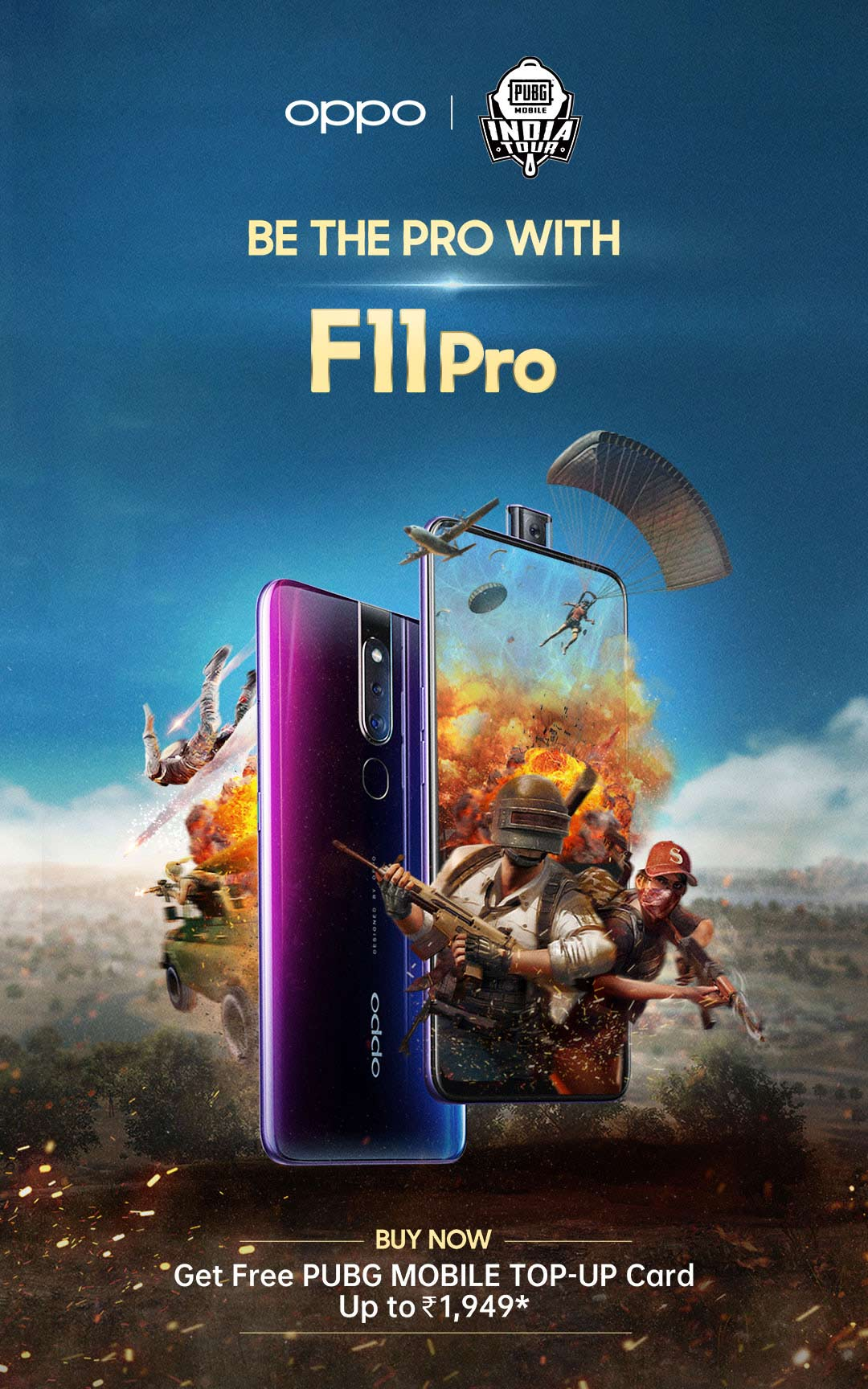 OPPO F11 Pro - 48 MP Camera | F11 Pro Features & Specs