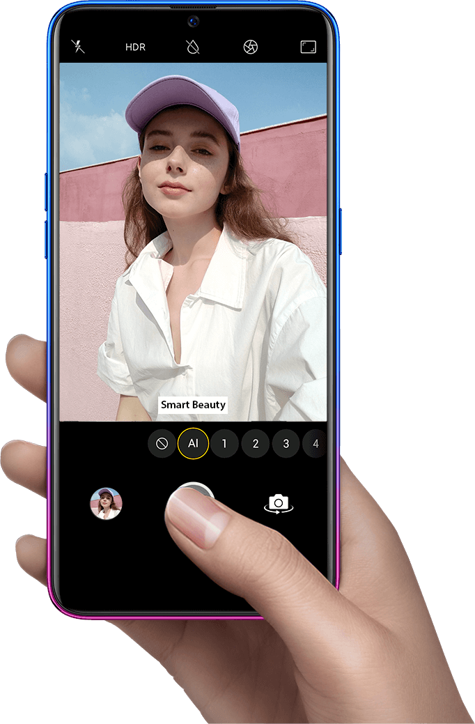 OPPO K1 Mobile - 25MP AI Beauty Front Camera