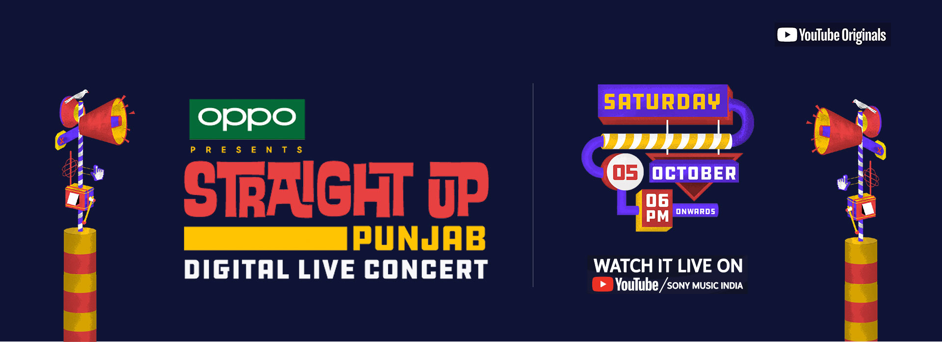 Zoom Into the Beats of Punjabi Music as OPPO presents Straight Up Punjab Music Festival