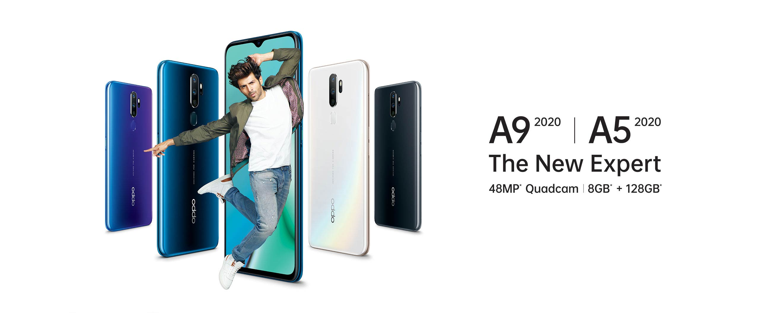 OPPO disrupts the mid-segment with A series 2020; Launches A9 and A5 with powerful Quad Camera