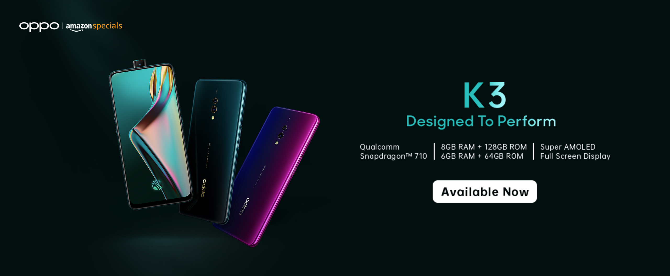 OPPO K3 with Pop Up Camera | K3 Features & Specifications