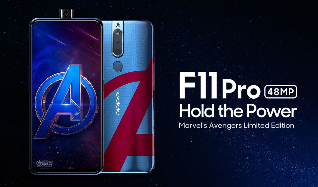 OPPO Announces Exclusive F11 Pro Marvel's Avengers Limited Edition in Cooperation with Marvel Studios' Avengers: Endgame