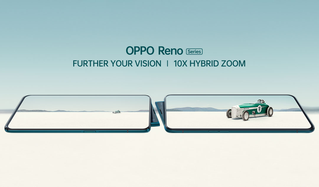 OPPO's Reno Series makes India debut; Inspires consumers to further their vision with OPPO Reno 10x Zoom