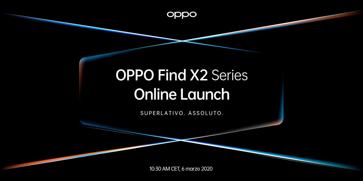OPPO lancia la Serie Flagship 5G con una conferenza online