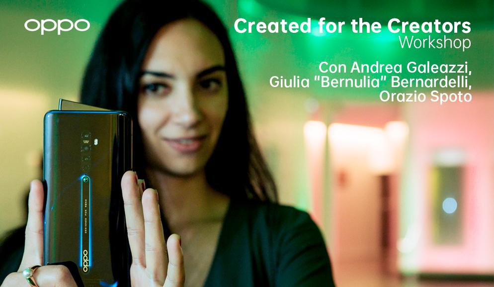 Created for the creators, quattro workshop all'insegna della creatività video e fotografica